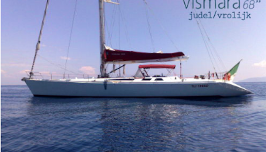 Captained Sailboat Charter In Fiumicino, Italy For Up To 8 People