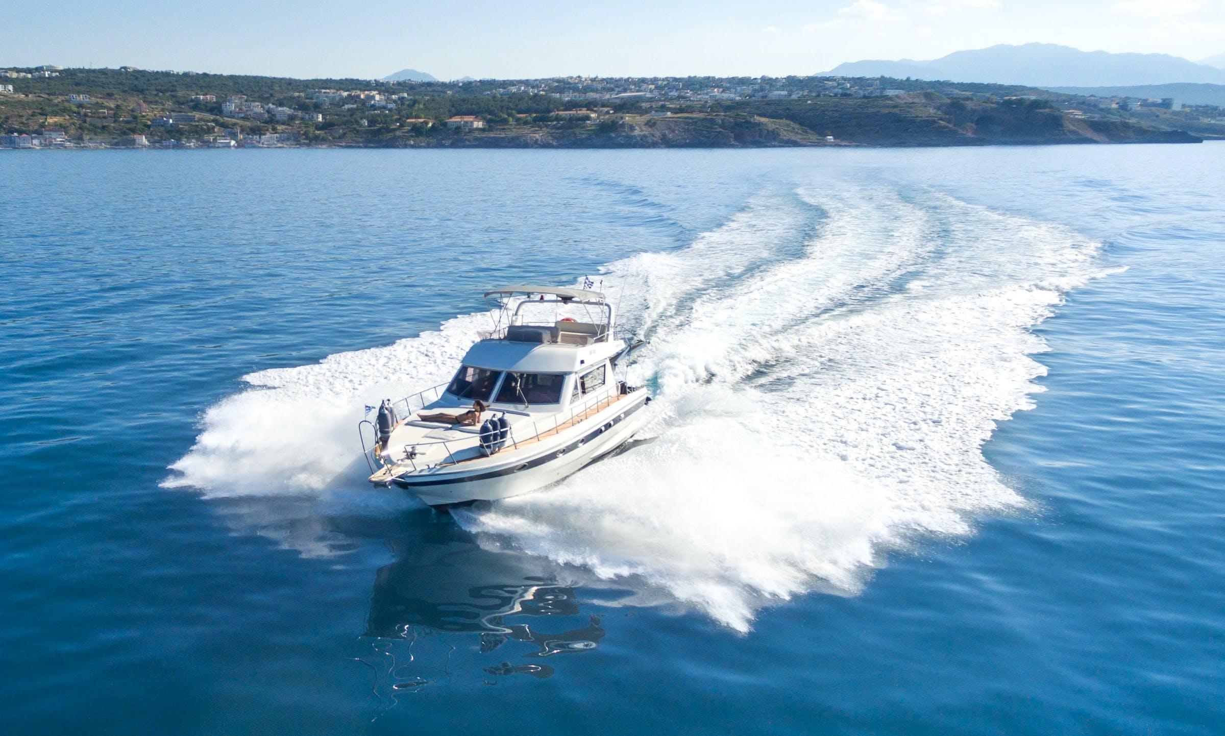 PIANTONI HARMONI 42 Motor Yacht rental in Rethymno
