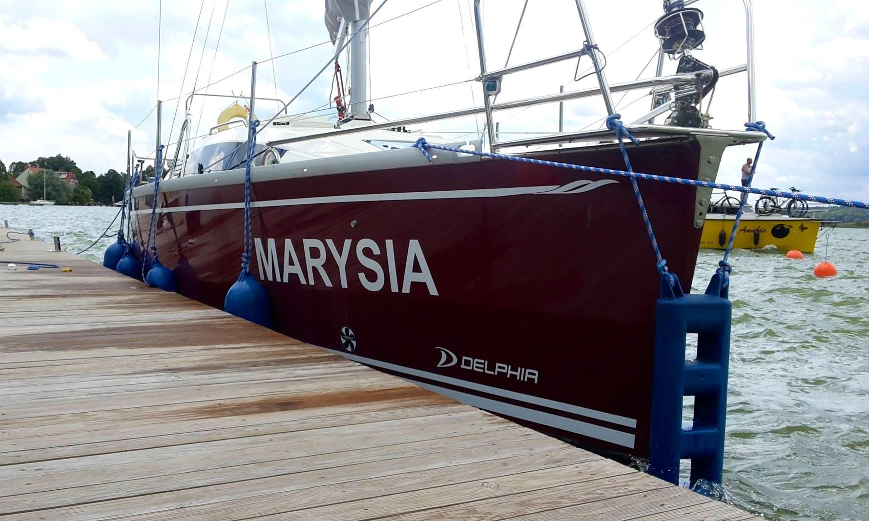 Charter 31' Phila - Marysia Cruising Monohull in Giżycko, Poland