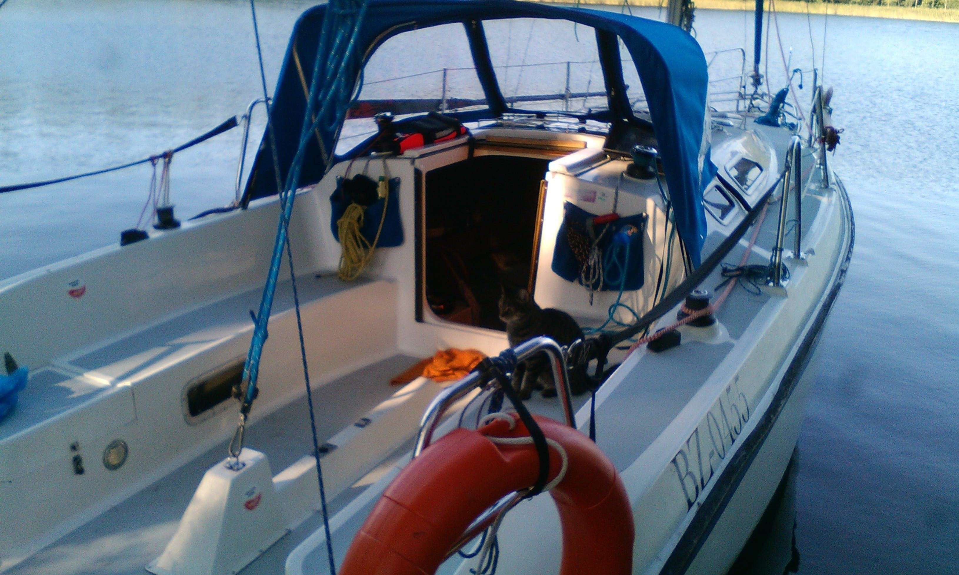 Charter 27' Fortuna Cruising Monohull in Giżycko, Poland