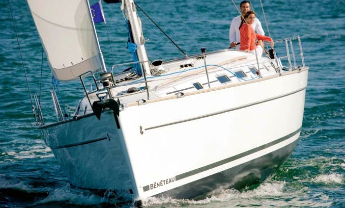 Beneteau 43.4 Cruising Monohull Charter for Up to 12 People in Odesa, Ukraine