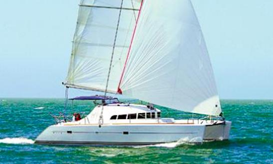 Charter 41' Lagoon 410 Cruising Catamaran In Italy