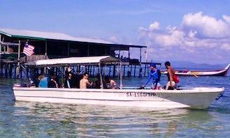 Sipadan Diving Boat in Sipadan