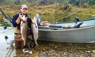 Drift Boat Fishing Trips in McMinnville, Oregon