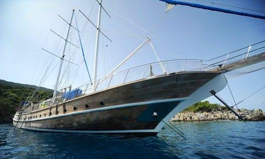 118' Sailing Gulet  Charter In Izmir, Turkey