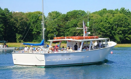 65' Scenic Lobster Tour Boat In Kennebunk