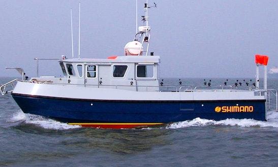 'seabreeze3' Catamaran Fishing Charter In Brighton
