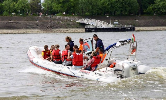 Charter Arimar See Pioneer 650 Rigid Inflatable Boat In Budapest, Hungary