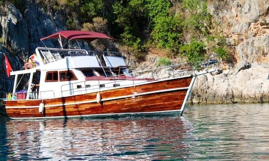 Aegean Soul-1 Boat Charter In Fethiye