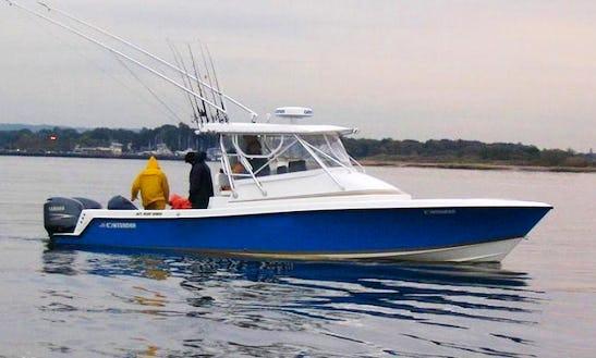 33' Cuddy Cabin Fishing Charter In New Jersey