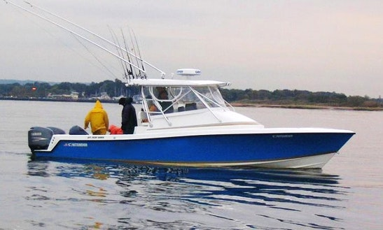 33' Cuddy Cabin Fishing Charter In New Jersey