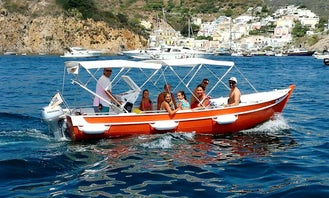 Sightseeing Tour to the Roman Caves of Ponza!