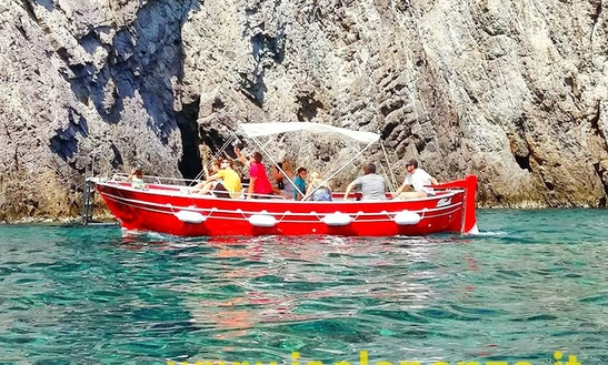Day Cruise With Up To 15 Friends In Ponza