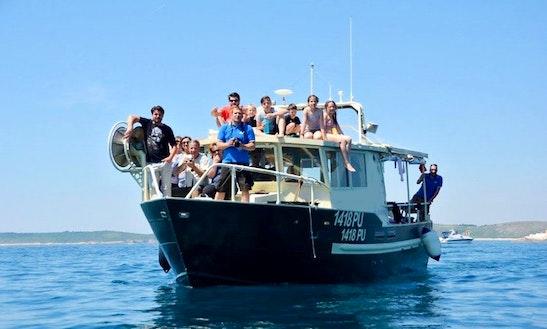Charter Coastworker Trawler In Pula, Croatia