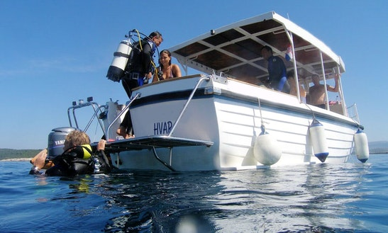 Head Boat Diving Charter In Hvar, Croatia
