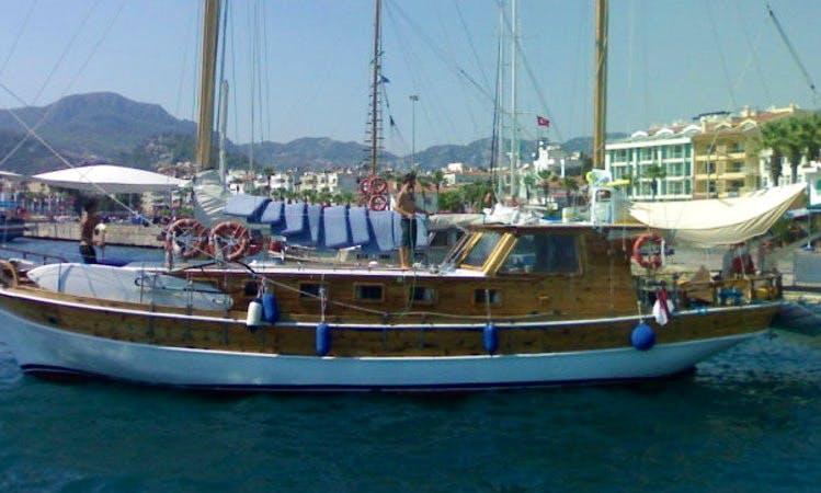 Büyük Yunus Gulet Charter in Marmaris