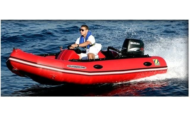 Boat 4 meter 15hp no license rental in Palma