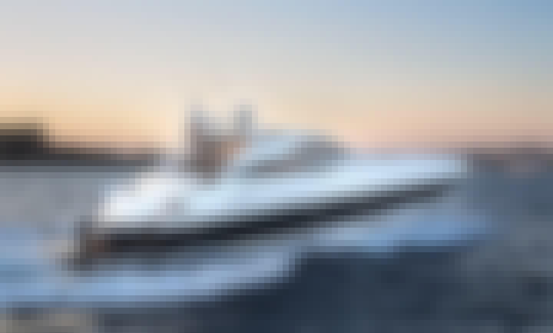 Charter a 12 Person Sunseeker Predator Power Mega Yacht in Ibiza, Spain