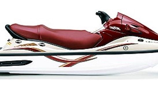 Enjoy Two Kawasaki 1100 3-seater Jet Ski Rental In Eagle Mountain, Utah