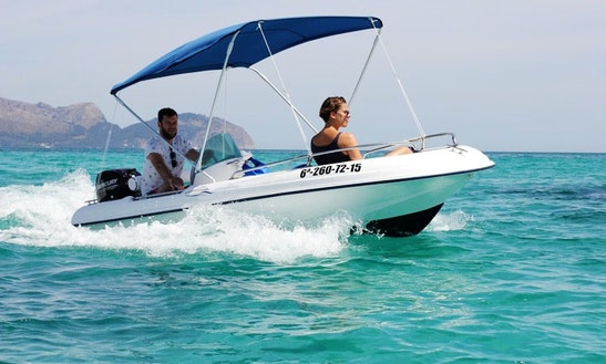 13' Center Console Charter In Peguera, Spain