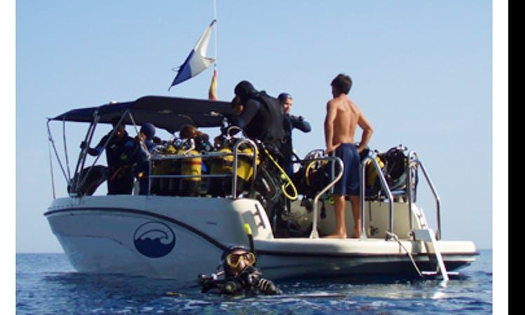 Boat Diving In Alcúdia