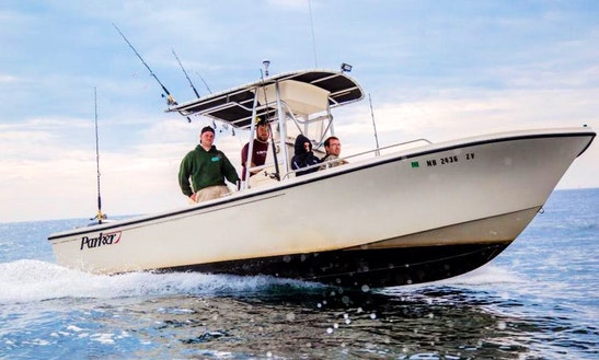 23' Parker Center Console Fishing Charter In Salisbury, Massachusetts