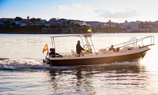 'ella Ii' Boat Water Taxi Trips In Es Castell