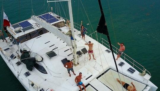 Cruising Catamaran 56' San Blas Panama, Portobelo