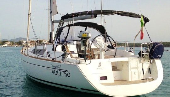 Charter A Ocean 37 Sailboat For 8 Person In Portocolom, Spain