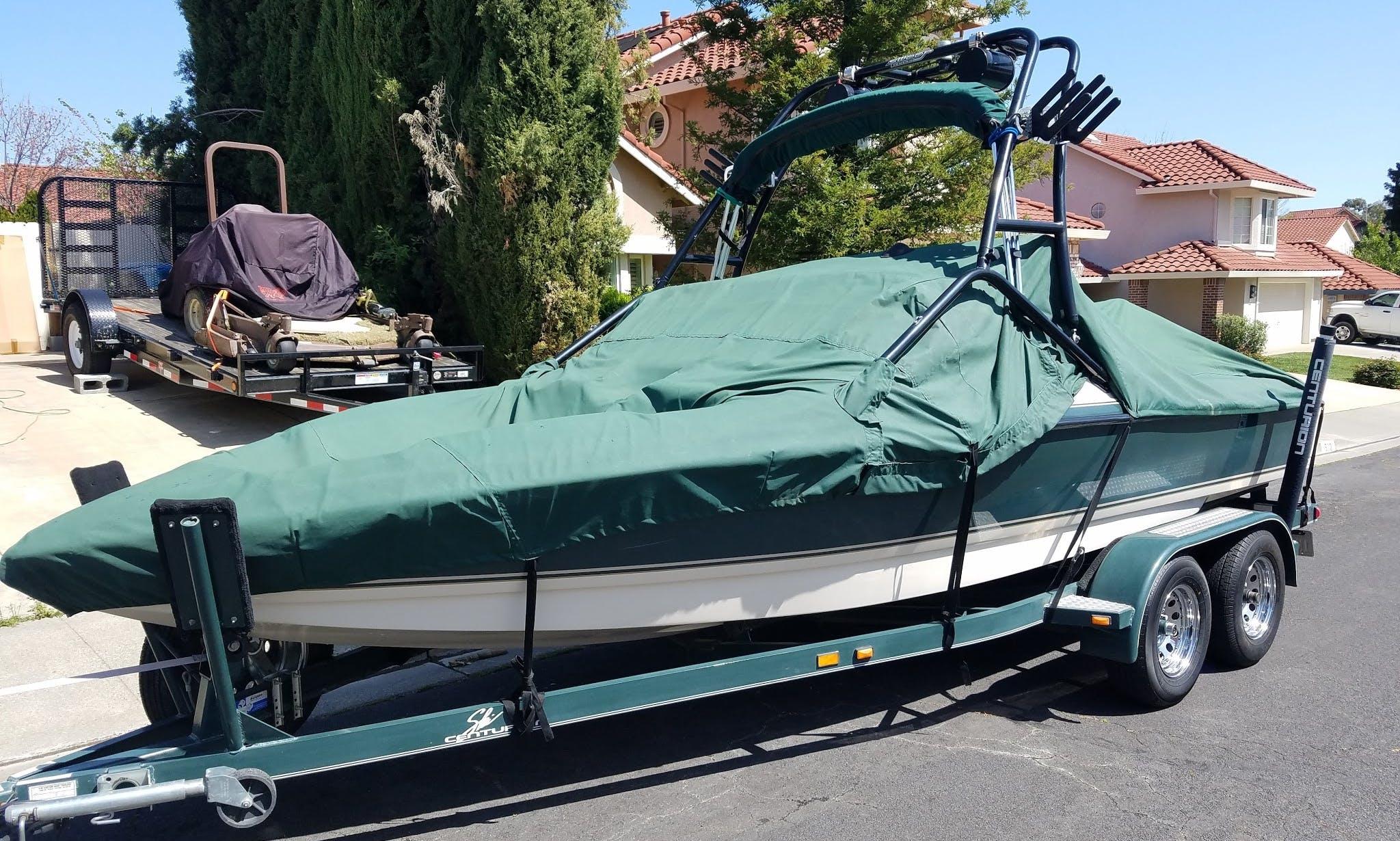 21' Ski Centurion Bowrider rental in Rio Vista, California