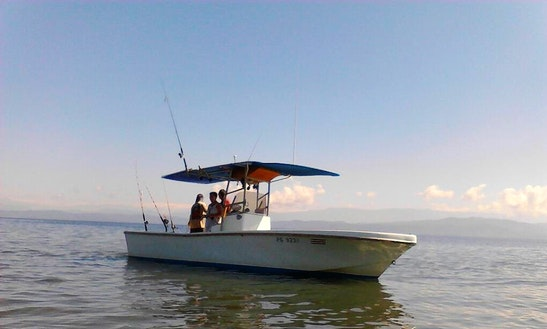 Enjoy Fishing In Puerto Jiménez, Costa Rica On Center Console