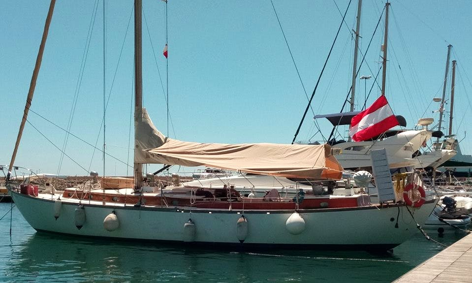 Charter 50' Siberia Sloop in Mgarr, Malta