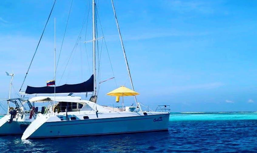 Charter 48' Privilege - Balindo Cruising Catamaran in Caribe Sur, Venezuela