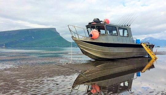 30' Cuddy Cabin Charter In Ninilchik, Alaska