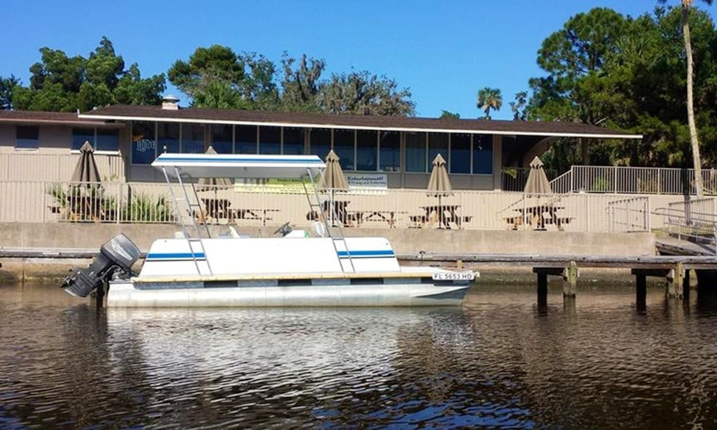 Come Fishing For The Day On A Pontoon Boat In Ormond Beach Flori Marina Vista