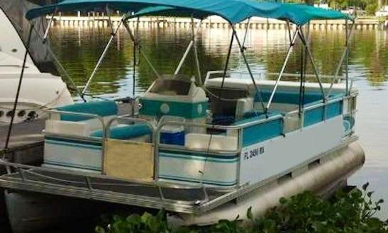 St. Johns River Tour Aboard 22 Egret Pontoon In Astor, Florida
