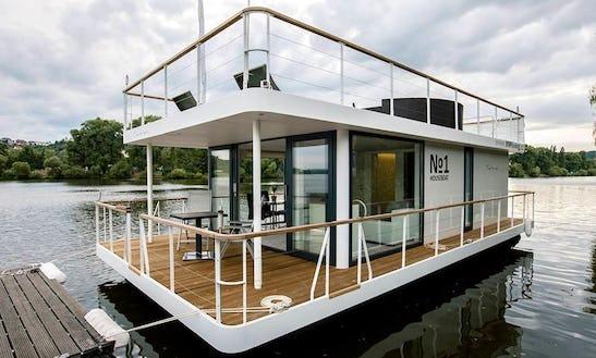 Charter 39' Houseboat In Prague, Czechia