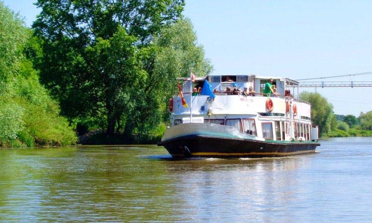 """""""Goplana"""" Canal Boat Trips in Wrocław"""