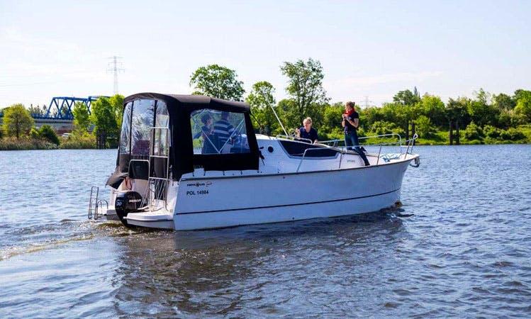 Enjoy Wrocław, Poland on 28' Motor Yacht