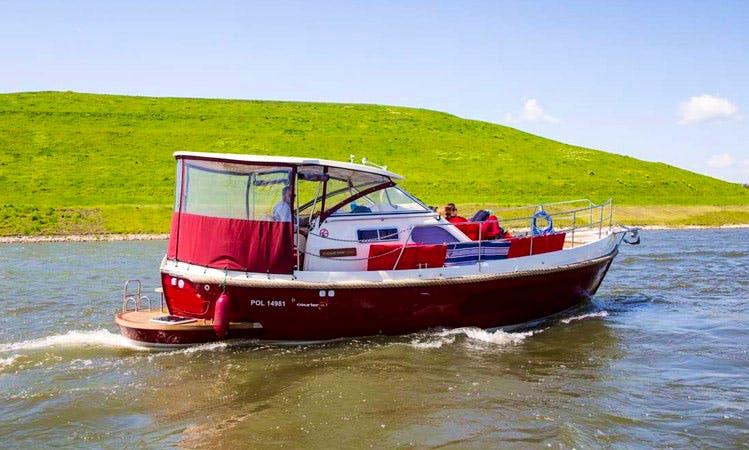 Enjoy Wrocław, Poland on 32' Motor Yacht