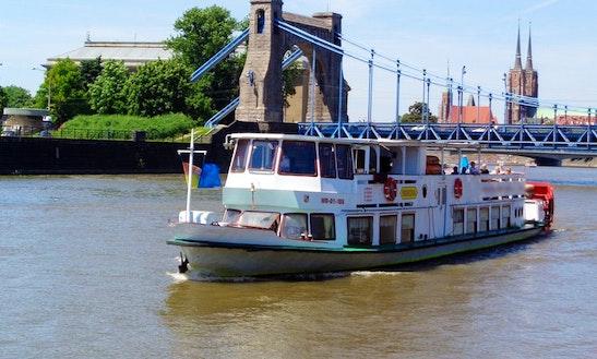 Canal Boat Trips In Wrocław