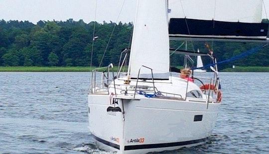 Charter 33' Antila Cruising Monohull In Giżycko, Poland