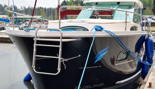 34' Nautica Yacht In Wilkasy