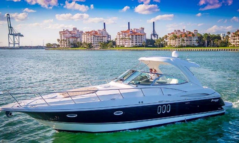 Charter 48' Searay Sundancer Motor Yacht In Miami Beach, Florida