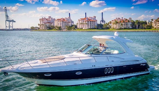 Charter 44' Searay Sundancer Motor Yacht In Miami Beach, Florida