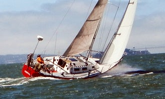 Cruising Monohull Half-Day Skippered Charter for 6 people in Emeryville, California