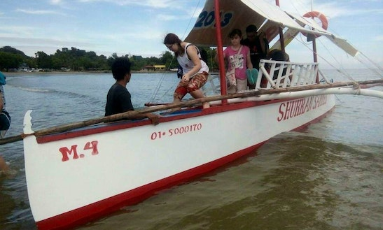 Charter A Traditional Boat In Alaminos City,philippines
