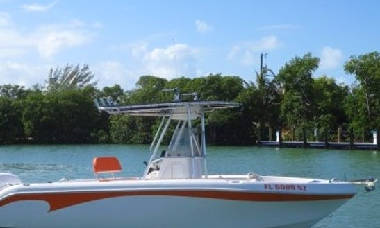 Enjoy Marathon, Florida On 22' Sea Chaser Center Console