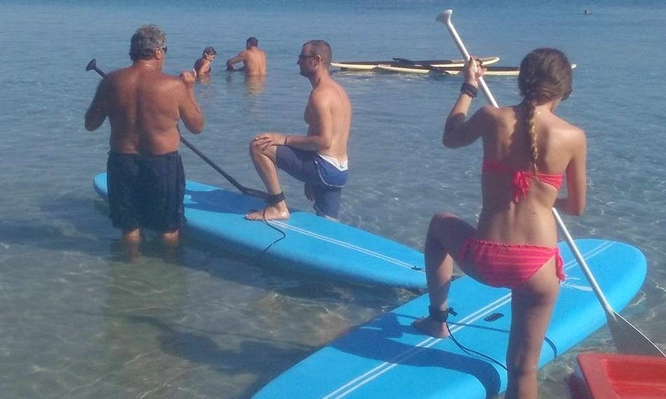 Enjoy Stand Up Paddleboard in Chania, Greece