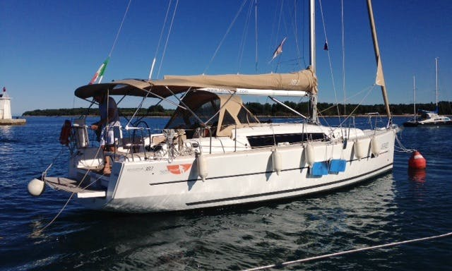 Dufour 382 Cruising Monohull Charter for 8 People in Caorle, Italy
